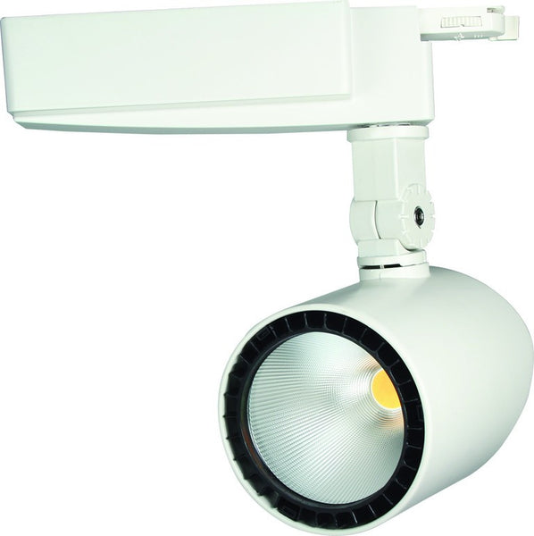 230VAC 30W COOL WHITE 2-WIRE LED TRACK LIGHT 4000k