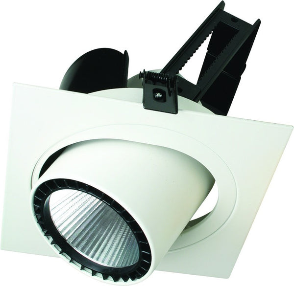 230VAC 30W WARM WHITE ADJ. RECESSED LED DOWN LIGHT 3000K