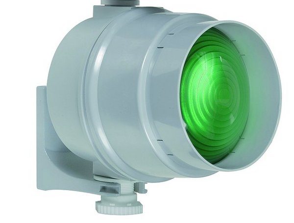 TRAFFIC LIGHT HEAD GREEN LED 230VAC