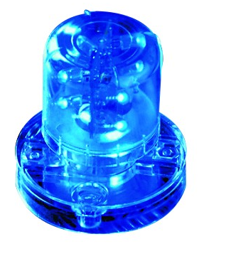 24VAC/DC FLASHING LED BLUE