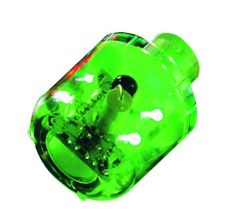 12VAC/DC FLASHING LED GREEN