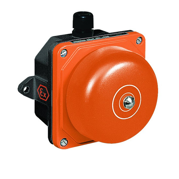 ATEX 230V 13VA 101dB BELL IP55 IN GRP ZONE 2&22