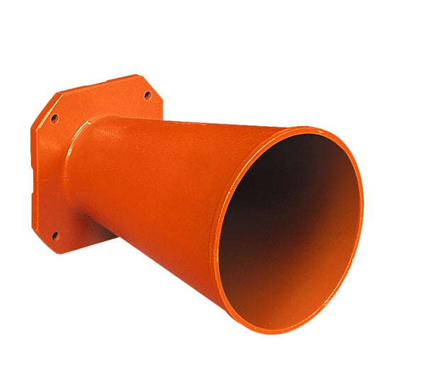 ATEX SIREN HORN DIA 112mm X 238MM LONG IN GRP FOR 900473