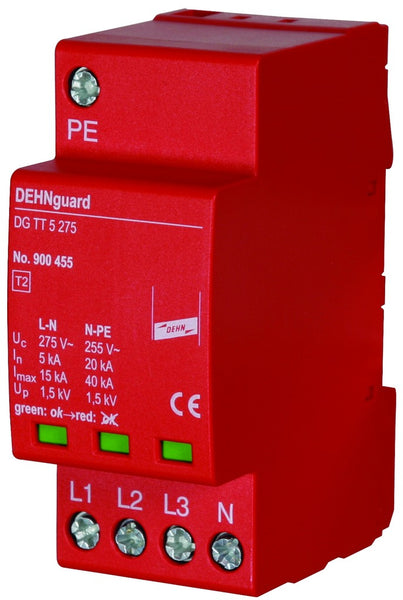DEHNGUARD DG 275 3PH+N CL2 SPD 10kA 230V
