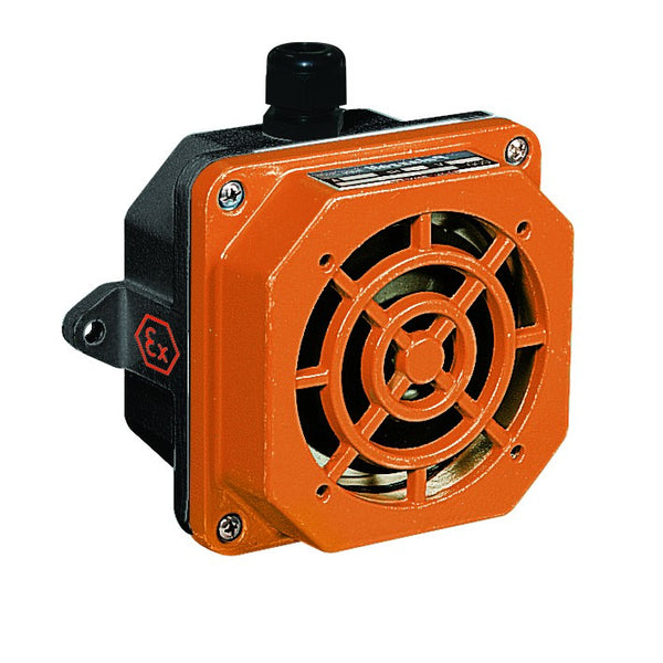 ATEX 230V 25VA SIREN 105dB IP66 IN GRP ZONE 2&22