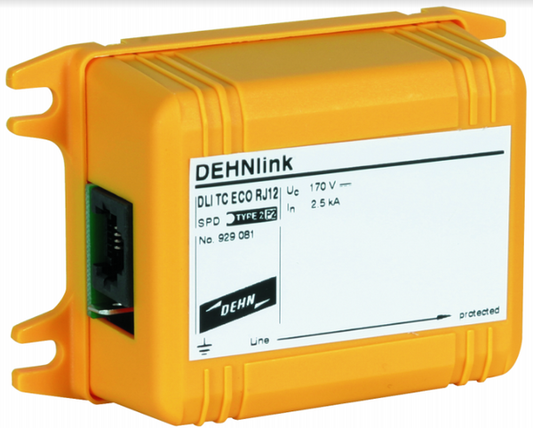 DEHNLINK TEL RJ12 5kA SINGLE LINE SPD 130V