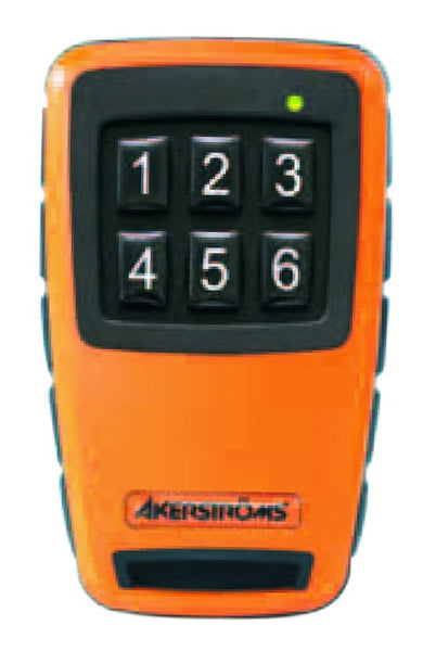 SESAM 800 MOBILE 6 BUTTON CONFIGURABLE 1-6 TRANSMITTER