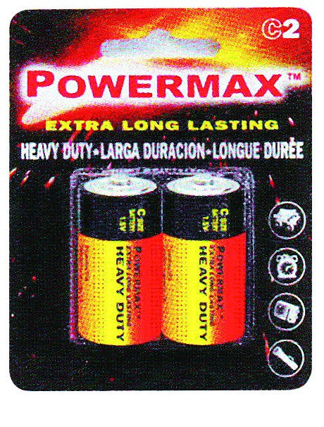 BATTERY D (PACK OF 2)