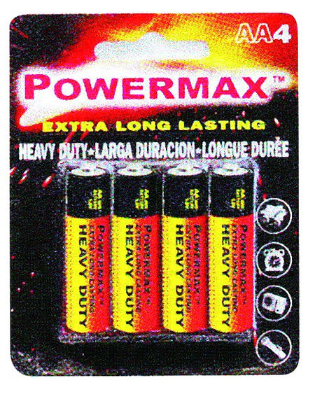 BATTERY AA (PACK OF 8)