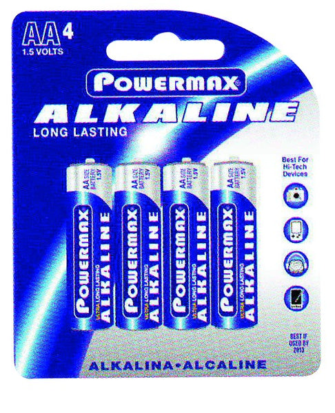 BATTERY AA (PACK OF 4)
