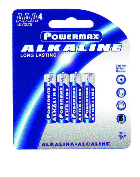 BATTERY AAA 1.5V (PACK OF 4)