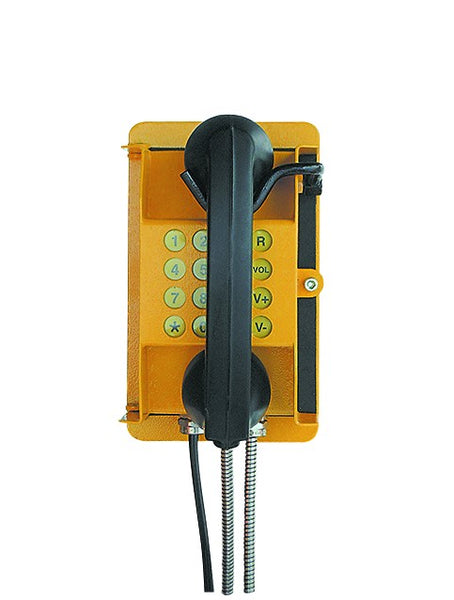 RATEL MINING TELEPHONE, MILD STEEL WEATHERPROOF