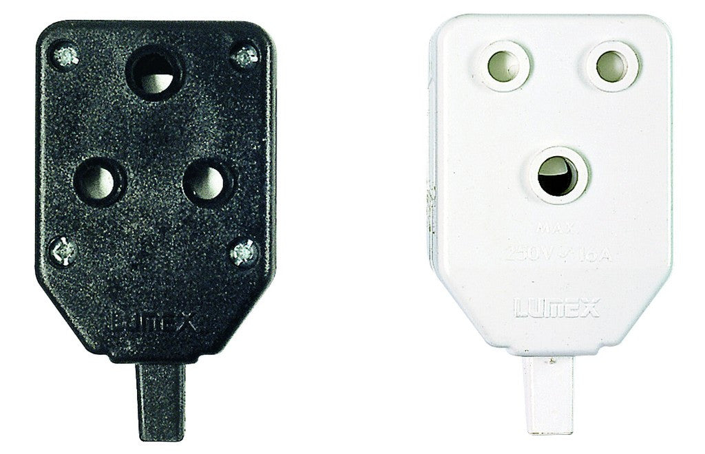 JANUS COUPLER DOUBLE WHITE NYLON