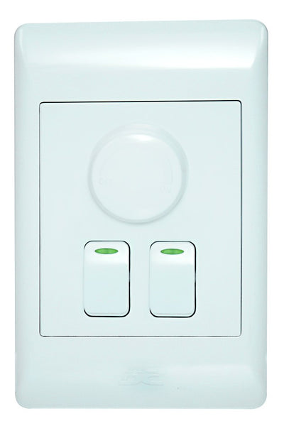 500W ROTARY DIMMER ON/OFF WITH 2 ONE WAY SWITCHES