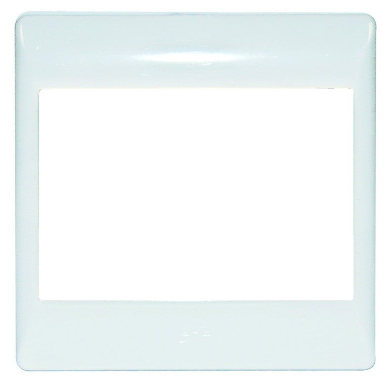 SPARE WHITE COVER PLATE 4x4