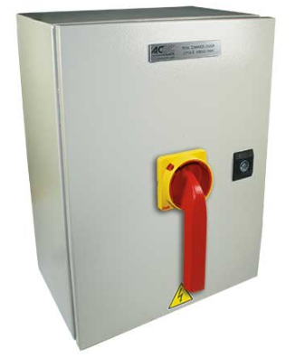 160A 3-POLE ENCLOSED CHANGEOVER SWITCH IP65