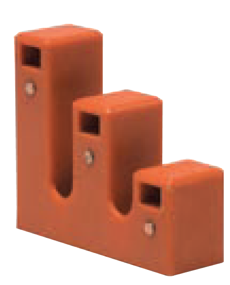 BUSBAR SUPPORT 3-PH. BUS SIZE 5x7mm / PAIR