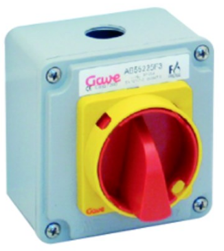FIRE RATED ISOLATOR F400 25A 2P