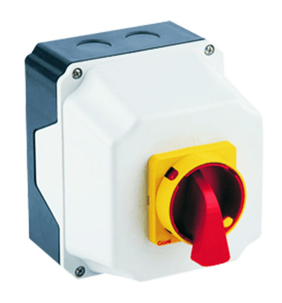 40A 4-POLE ENCLOSED CHANGEOVER SWITCH IP65