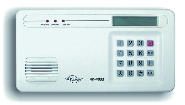 WIRELESS CONTROL UNIT WITH TELEPHONE DIALER