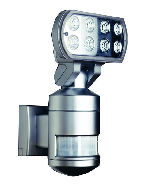 MOTORISED CFL FLOODLIGHT C/W PIR AND CAMERA