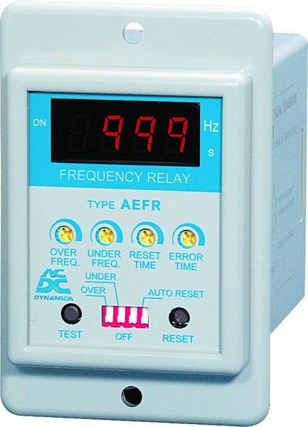 DIGITAL FREQUENCY RELAY 230VAC 8PIN/FLUSH MOUNT
