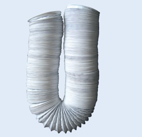 SPARE ALU-LAMINATED FLEXIBLE DUCT 125MM 1 METRE LENGTH