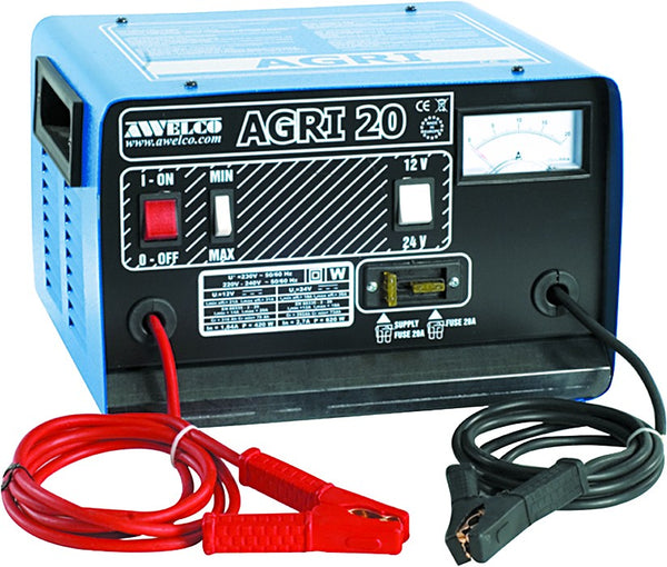12/24V SEMI PROFESSIONAL BATTERY CHARGER