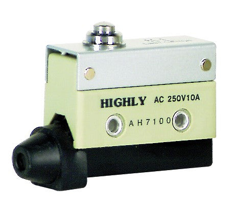 LIMIT SWT SMALL PUSH BUTTON C/O 10A IP65