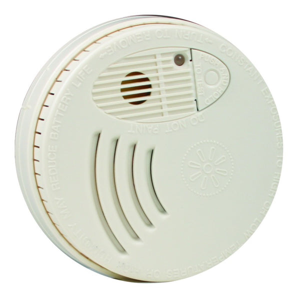100-240VACOR 9VDC PHOTOELECTRIC SMOKE DETECTOR