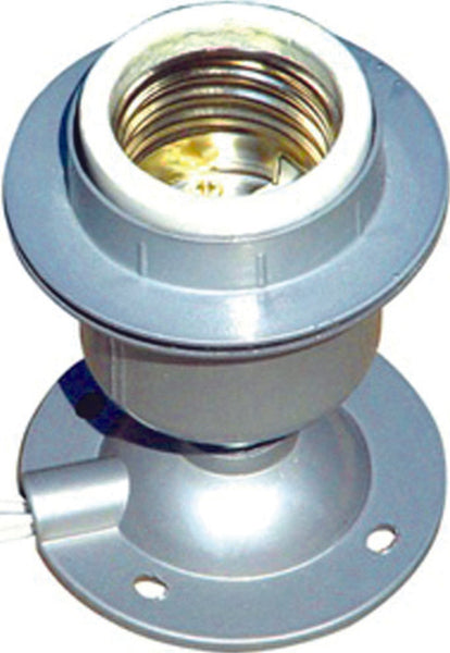 E40 ALUMINIUM BATTEN MOUNT LAMP HOLDER