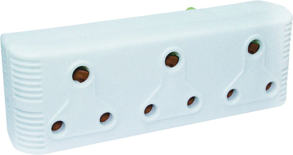 3 X15A HORIZONTAL EXT.SOCKET