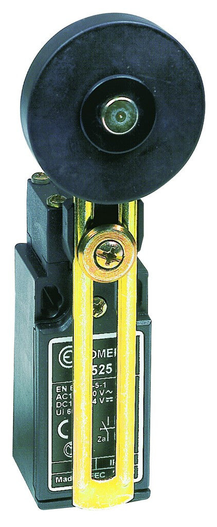 LIMIT SWT ADJ  LARGE ROLLER LEVER C/O 3A 30MM IP65