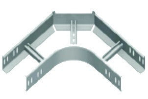 90° HORIZONTAL BEND 50MM(H) 100MM(W) 1.2MM(TH),SD