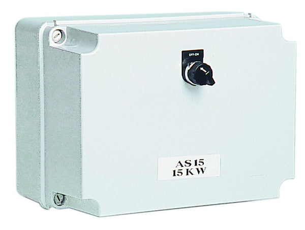 11kW 400V S-D COMPRESSOR STARTER GREY POLY IP56