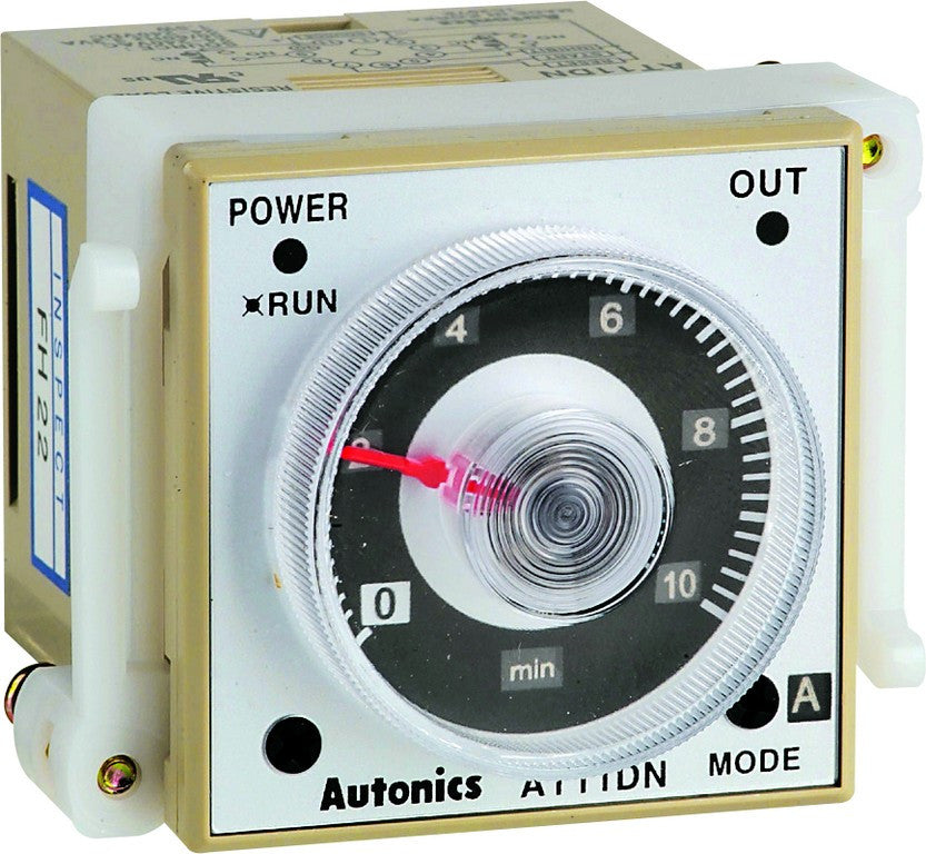 TIMER 48X48 1S TO 600H 24-240VAC 1 DEL + 1 INST.C/O