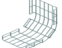 4MM WIRE MESH UP CURVE(RISER) INSIDE 50MM(H) 100MM(W) SD