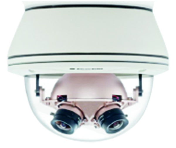 8MP 360PAN IP CAMERA,6FPS,3.5MM F/1.8 IR LENS,VANDAL RES DOM