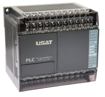 AX1S PLC WITH 16 X DIGITAL INPUT,14 X TRANSISTOR OUTPUT,24VD