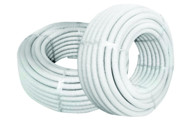 20mm WHITE PVC FLEX CONDUIT /50 METER