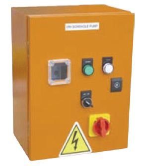 30kW 400V BOREHOLE SOFT STARTER ORANGE STEEL IP65 230V CONTR