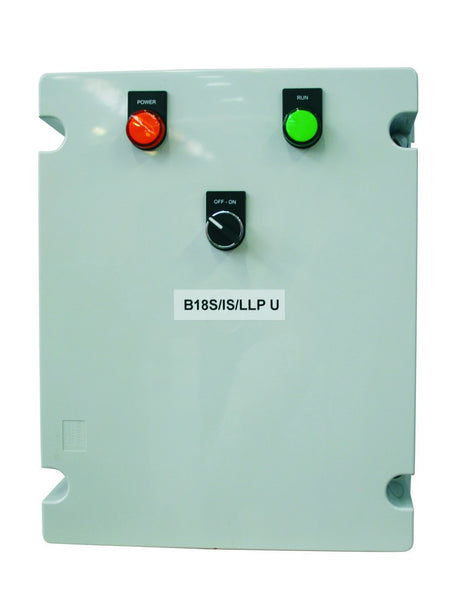 15kW 400V BOREHOLE SOFT STARTER GREY POLY IP56 230V CONTROL
