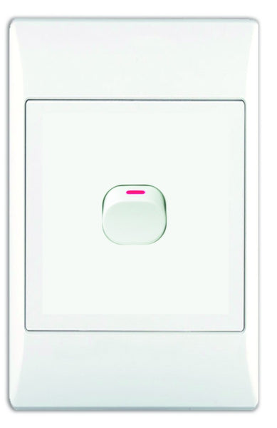 1-LEVER 2-WAY SWITCH 2x4 C/W WHITE COVER PLATE