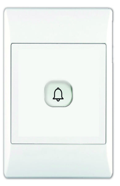 1X16A SPRING RETURN DOORBELL SWITCH