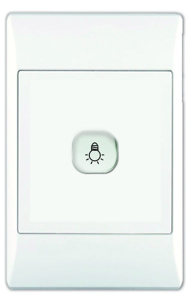 500W PUSH BUTTON DIMMER ON/OFF C/W DIM MODULE