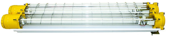 FLUORESCENT FITTING 2X18W 230V Ex IP65