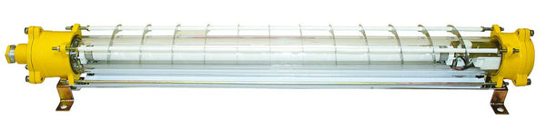 FLUORESCENT FITTING 1x18W 230V Ex IP65