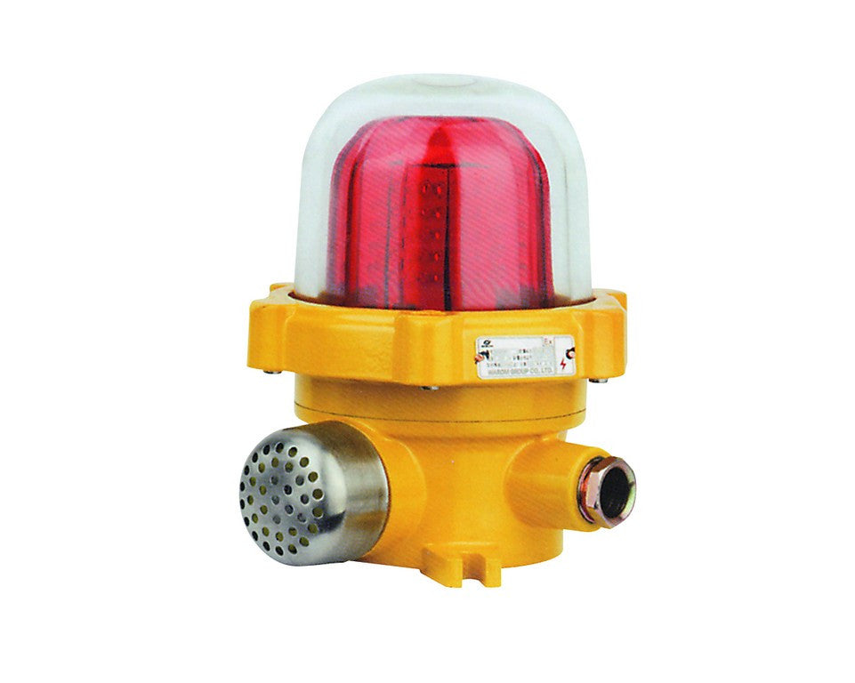 110VAC EX. PROOF LED BEACON/SOUNDER YELLOW IP65