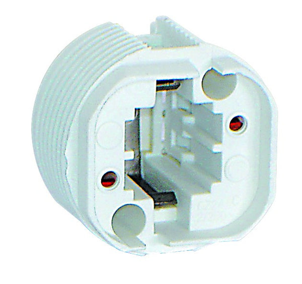 2 PIN OFF CENTRE LAMPHOLDER FOR PLC-18 LAMP