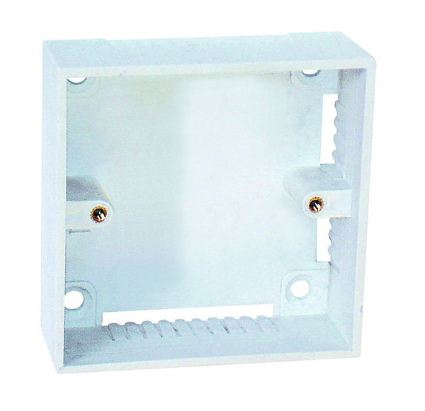 SURFACE MOUNT WALL BOX. 86X86MM
